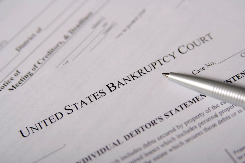 Bankruptcies are giant red flags on a background check